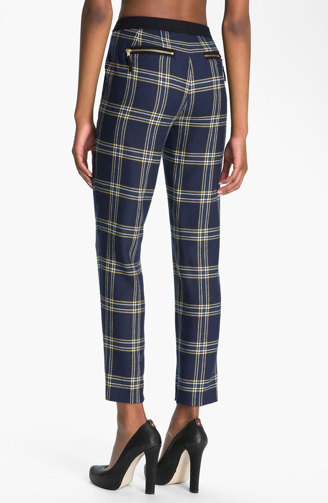 Alternate Image 2  - Juicy Couture 'Eton' Plaid Crop Pants