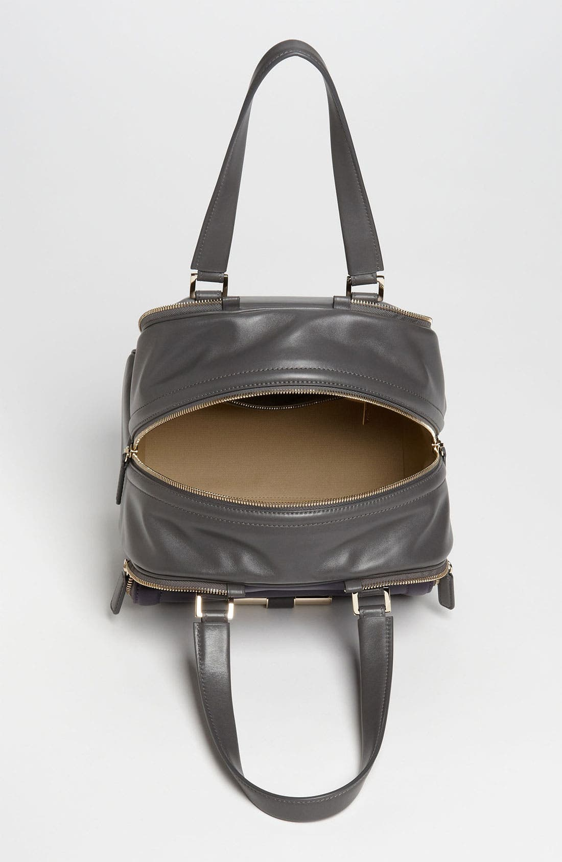 Alternate Image 3  - Jimmy Choo 'Justine - Small' Bicolor Leather Satchel