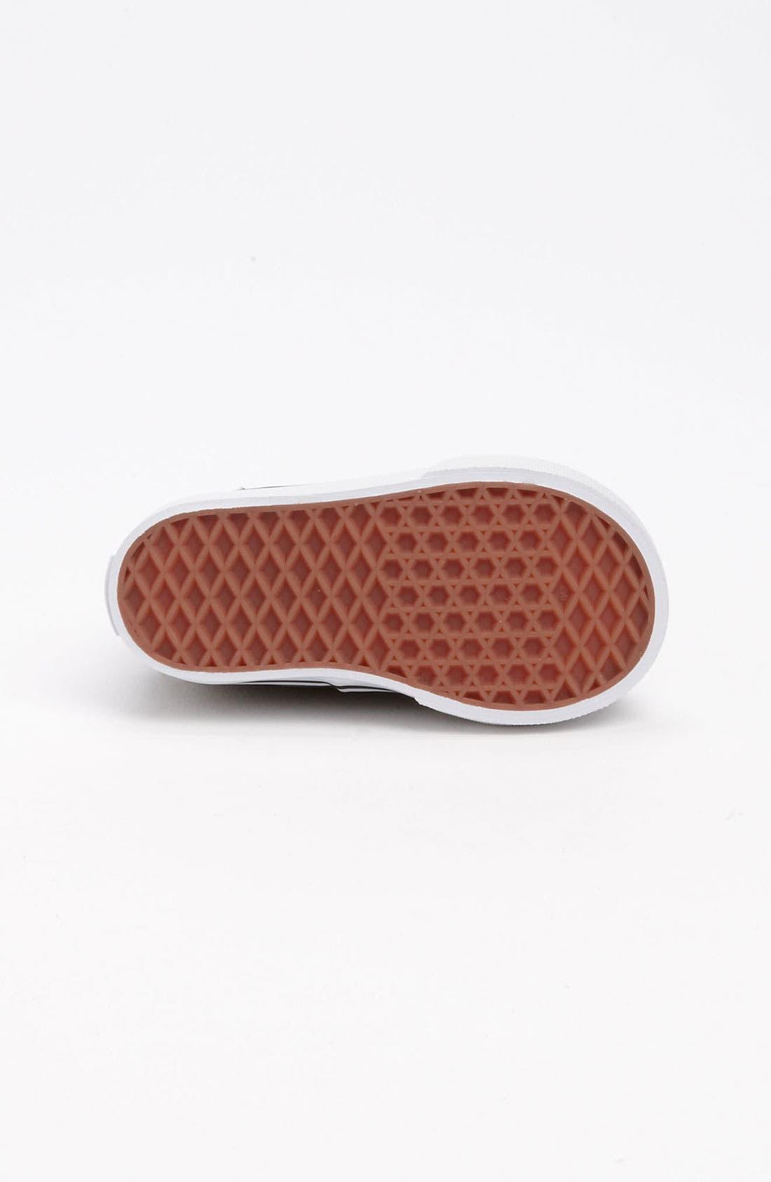 Alternate Image 4  - Vans 'Zapato del Barco V' Boat Shoe (Baby, Walker & Toddler)