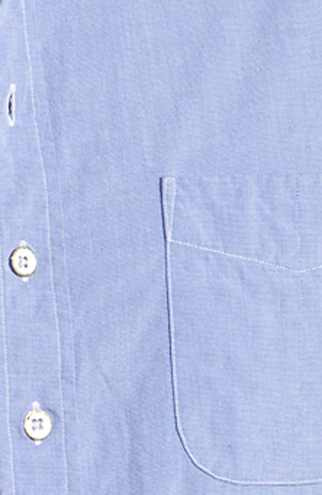 Alternate Image 3  - rag & bone Washed Cotton Sport Shirt