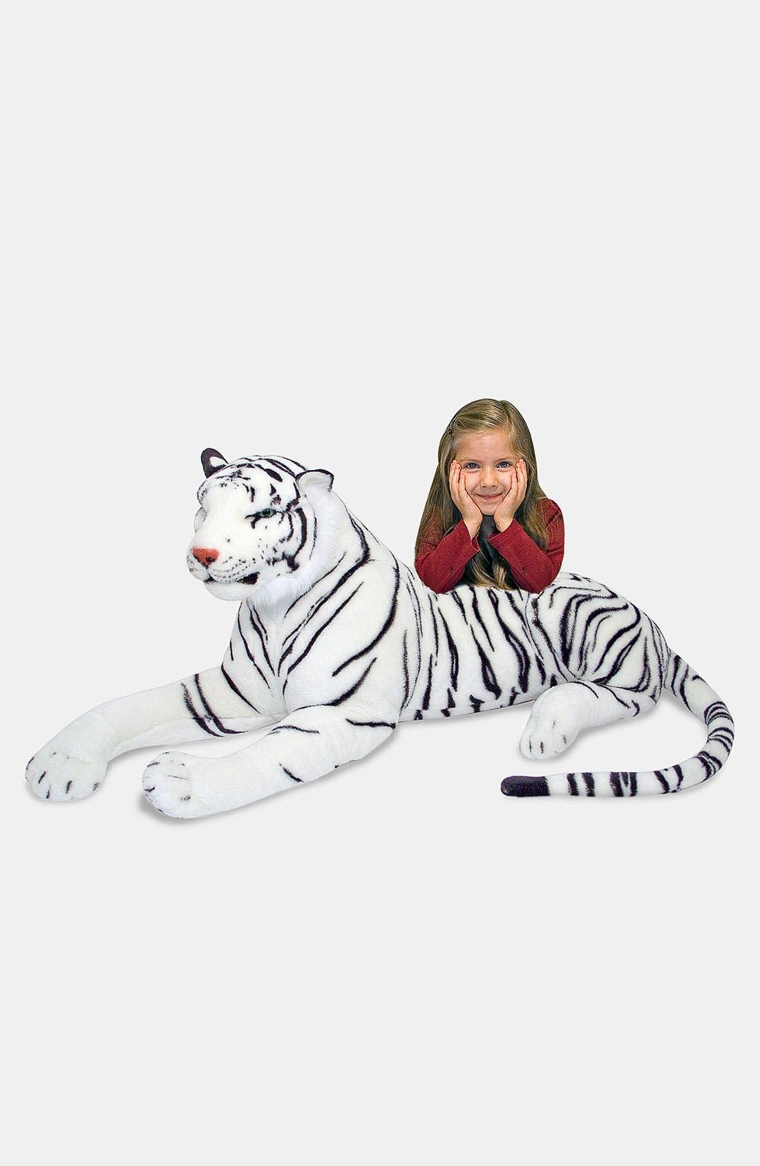 Main Image - Melissa & Doug Oversized Plush Stuffed White Tiger