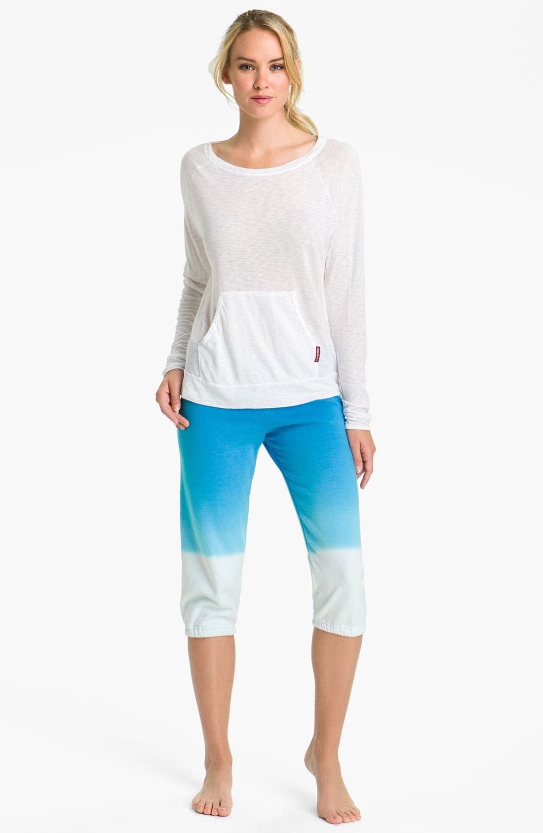 Alternate Image 4  - Hard Tail Relaxed Capris