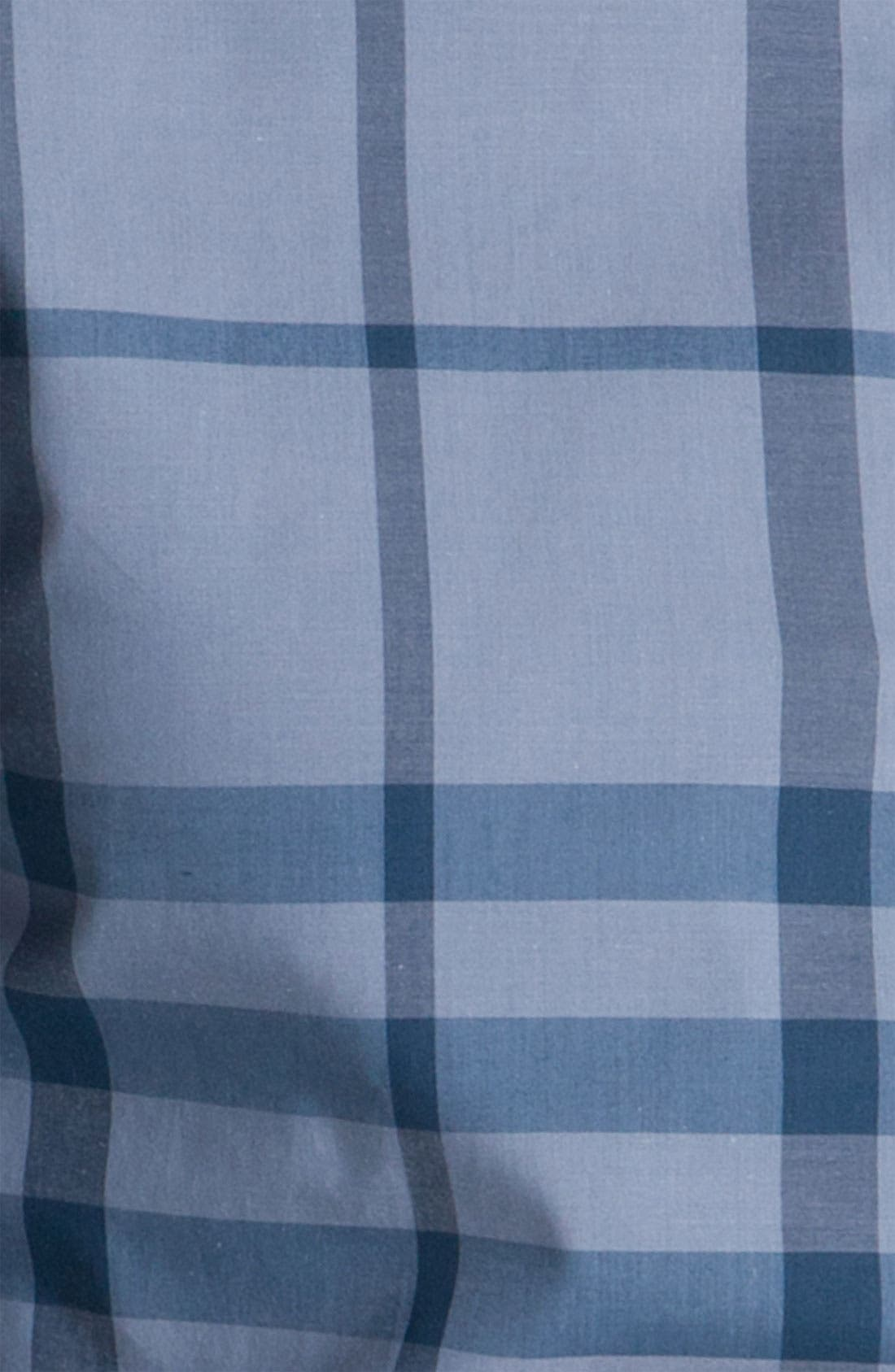 Alternate Image 3  - Burberry London Woven Cotton Shirt