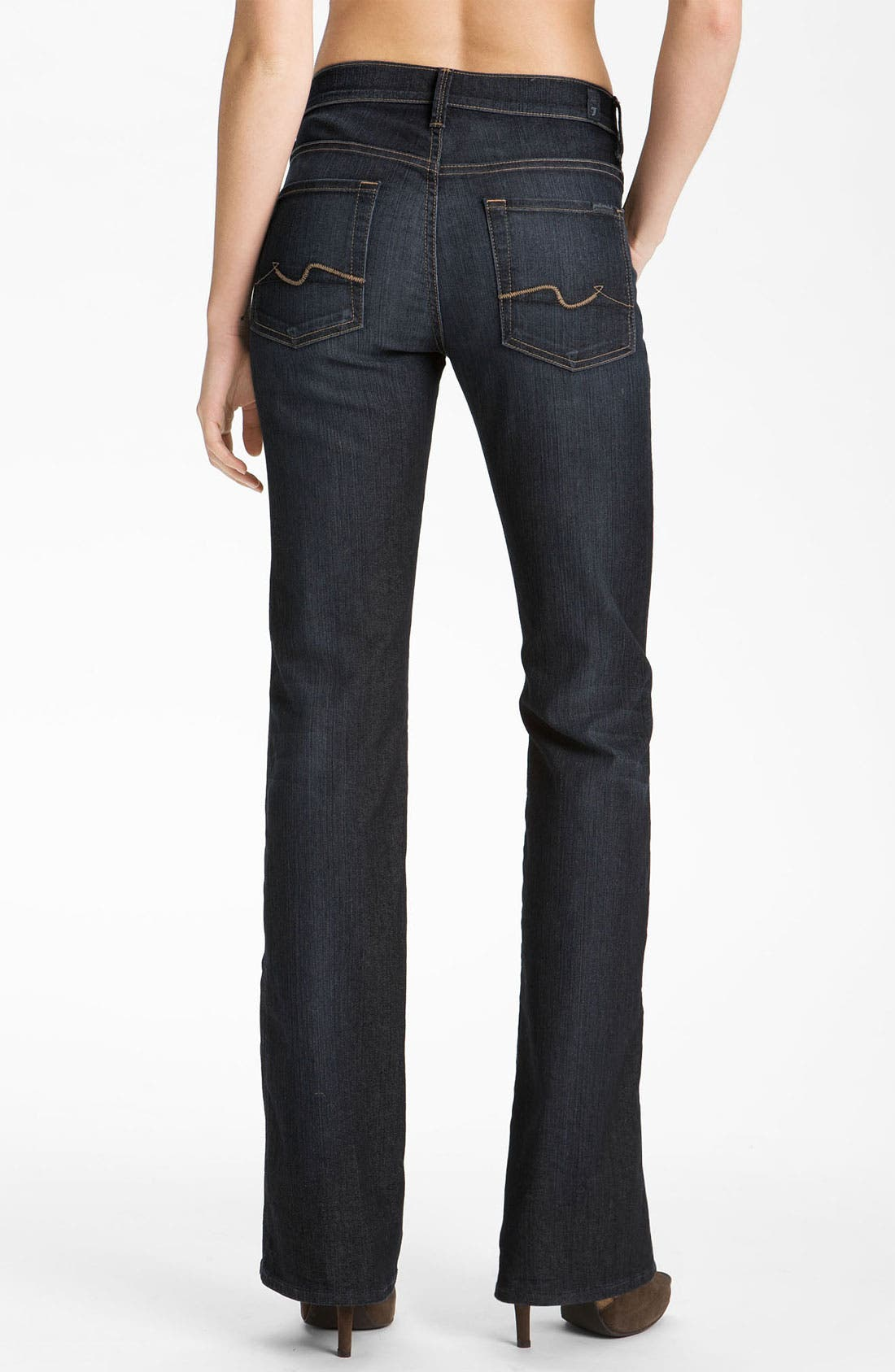 Alternate Image 2  - 7 For All Mankind® Bootcut Jeans (Blue Canyon)