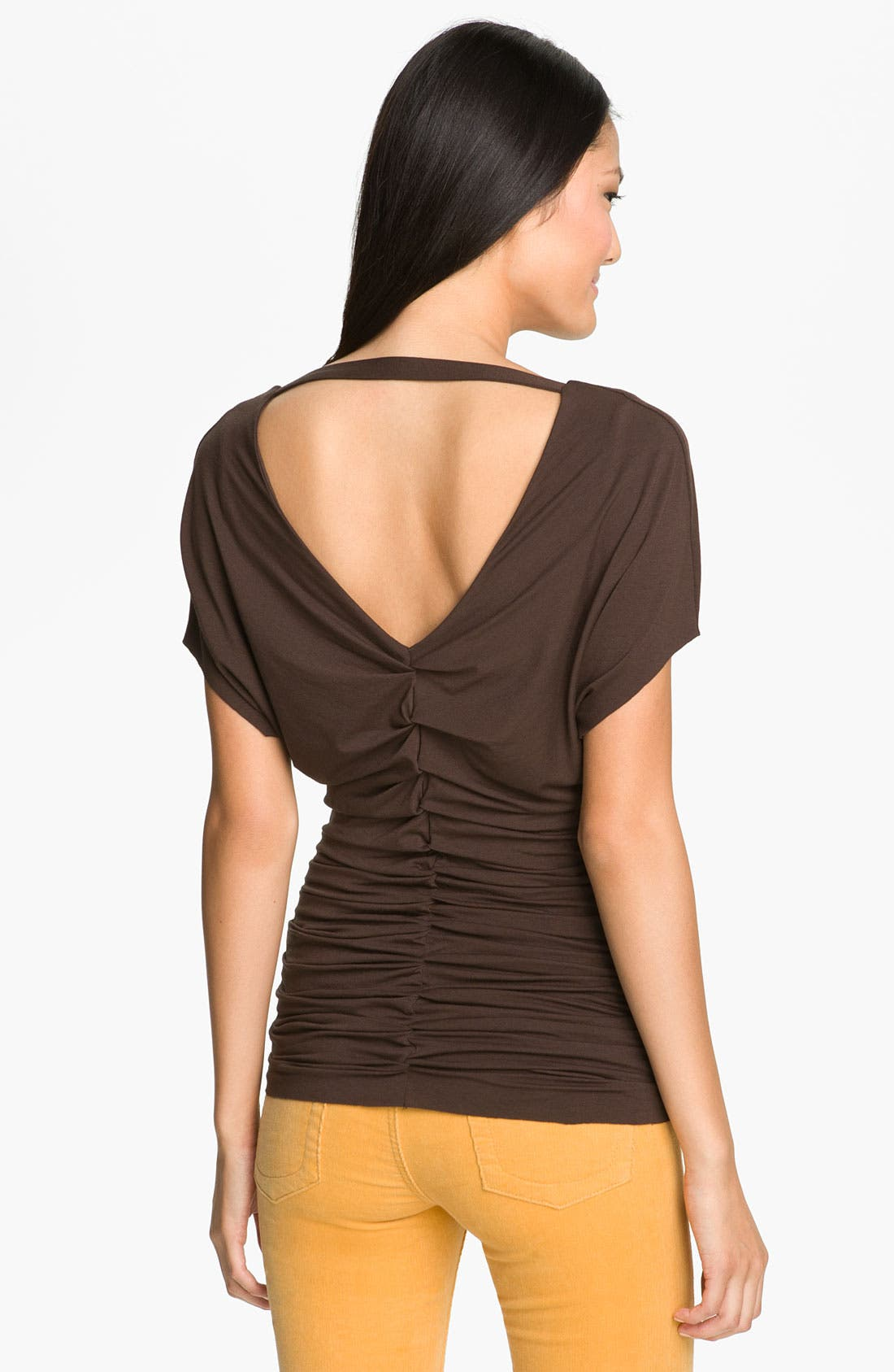 Alternate Image 1 Selected - Vince Camuto Ruched Front Top
