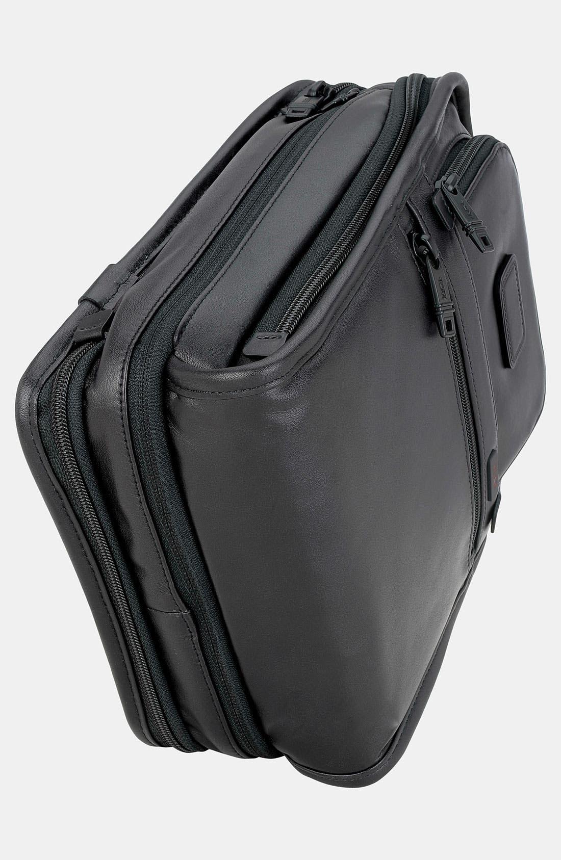 Alternate Image 5  - Tumi 'Alpha' Organizer Travel Leather Tote