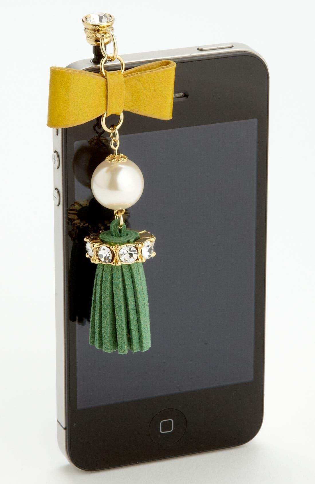 Alternate Image 1 Selected - Cara 'Tassel' Smartphone Charm