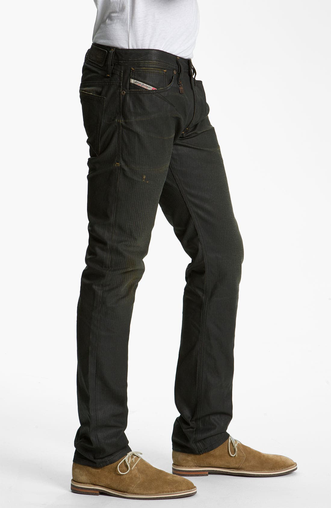 Alternate Image 3  - DIESEL® 'Shioner' Coated Slim Skinny Leg Jeans (0804H)