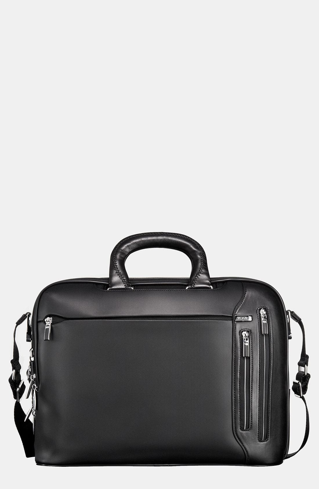 Alternate Image 1 Selected - Tumi 'Arrive - Narita' Slim Leather Briefcase