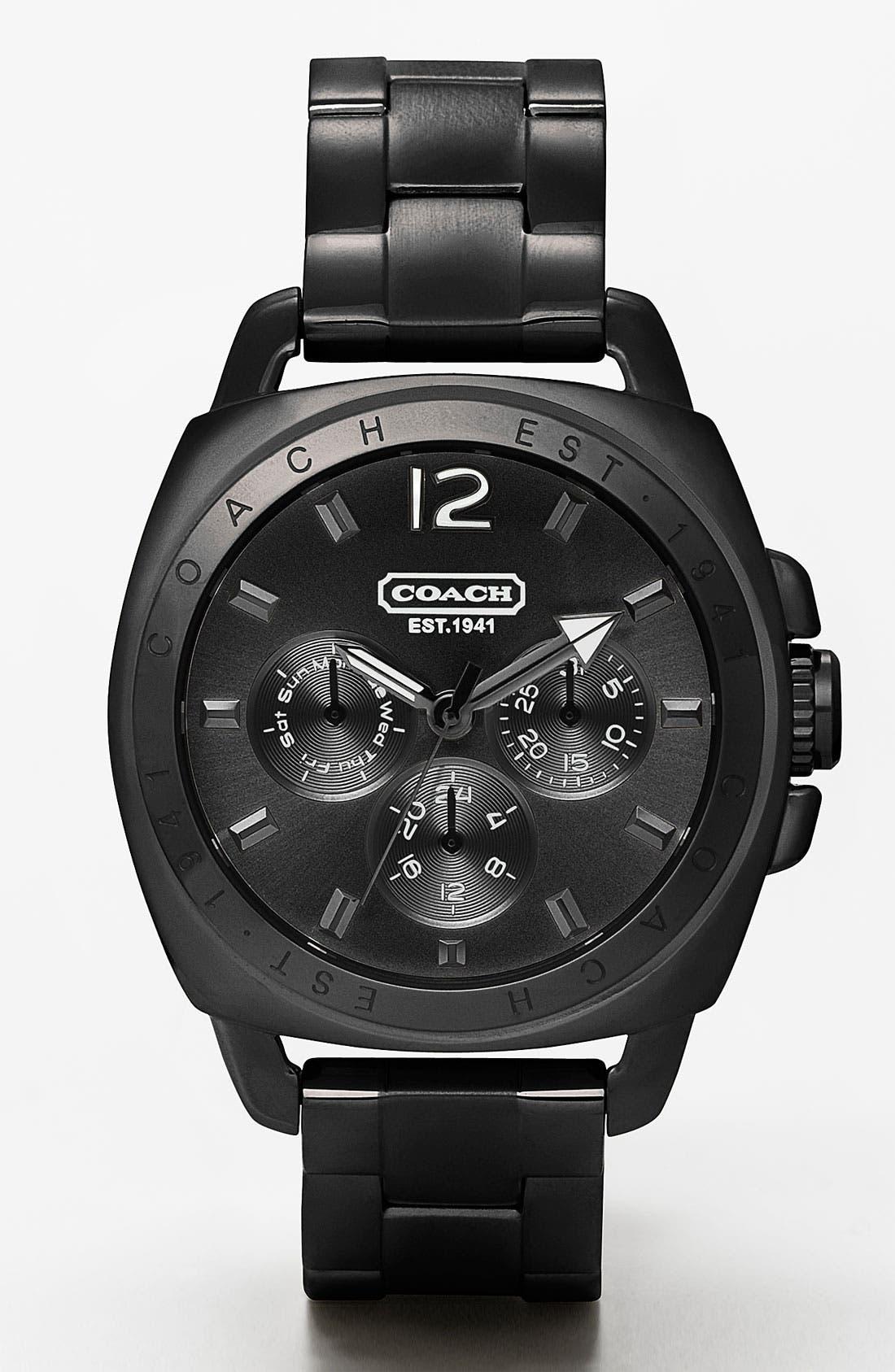 Alternate Image 1 Selected - COACH 'Boyfriend' Bracelet Watch