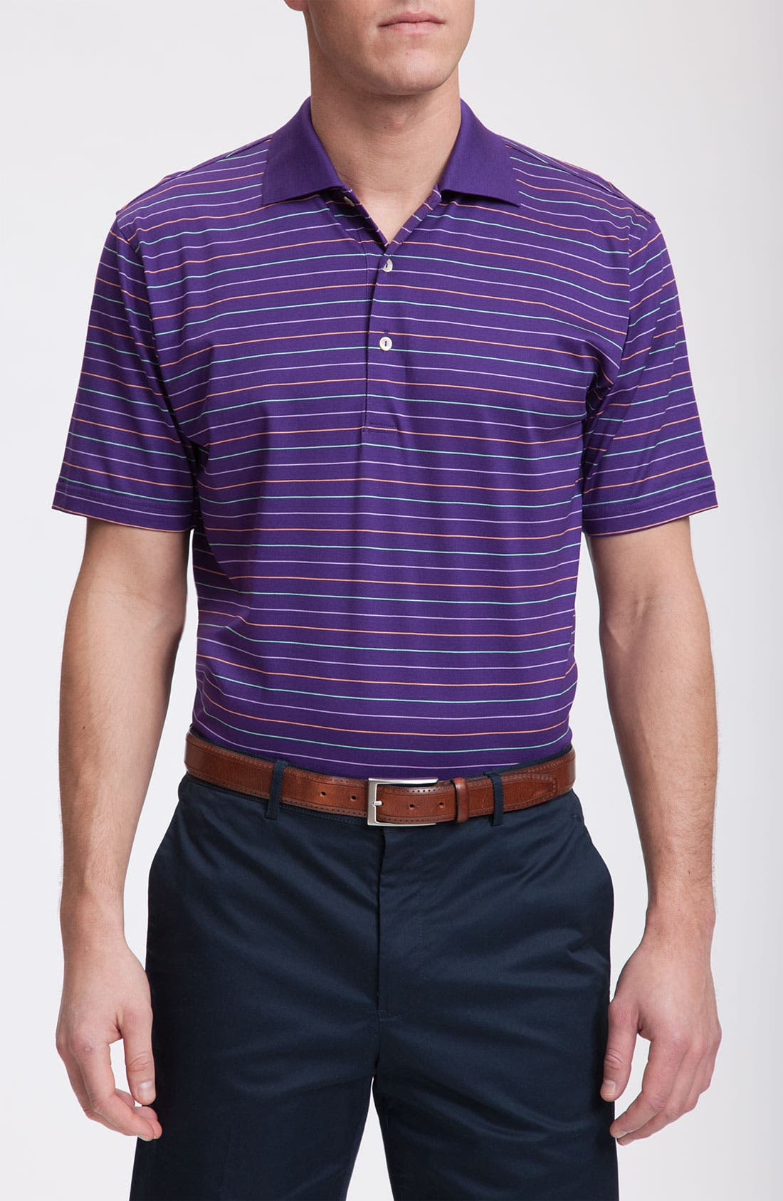 Alternate Image 1 Selected - Peter Millar Cotton Polo