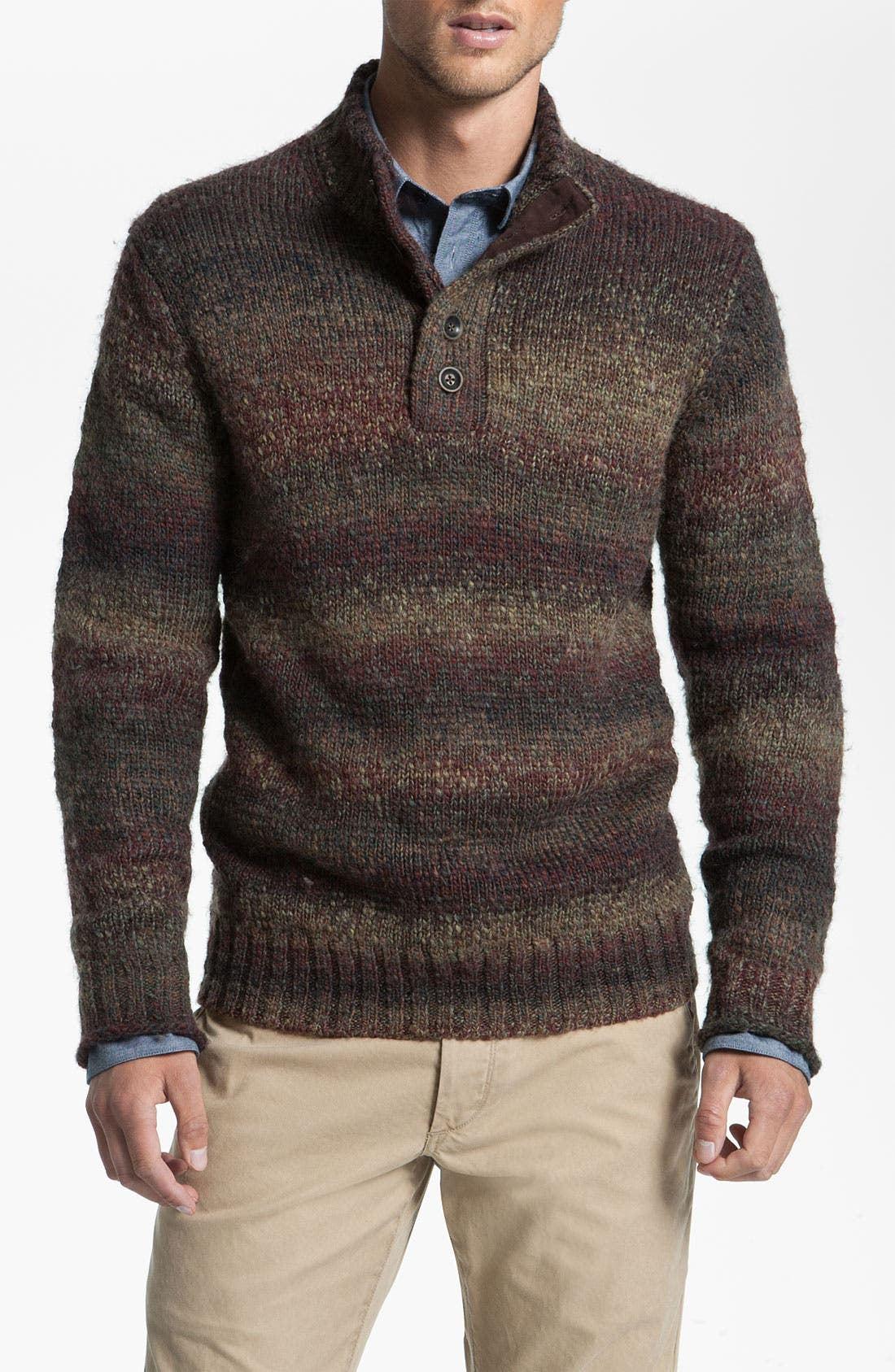 Main Image - Hickey Freeman Mock Neck Sweater