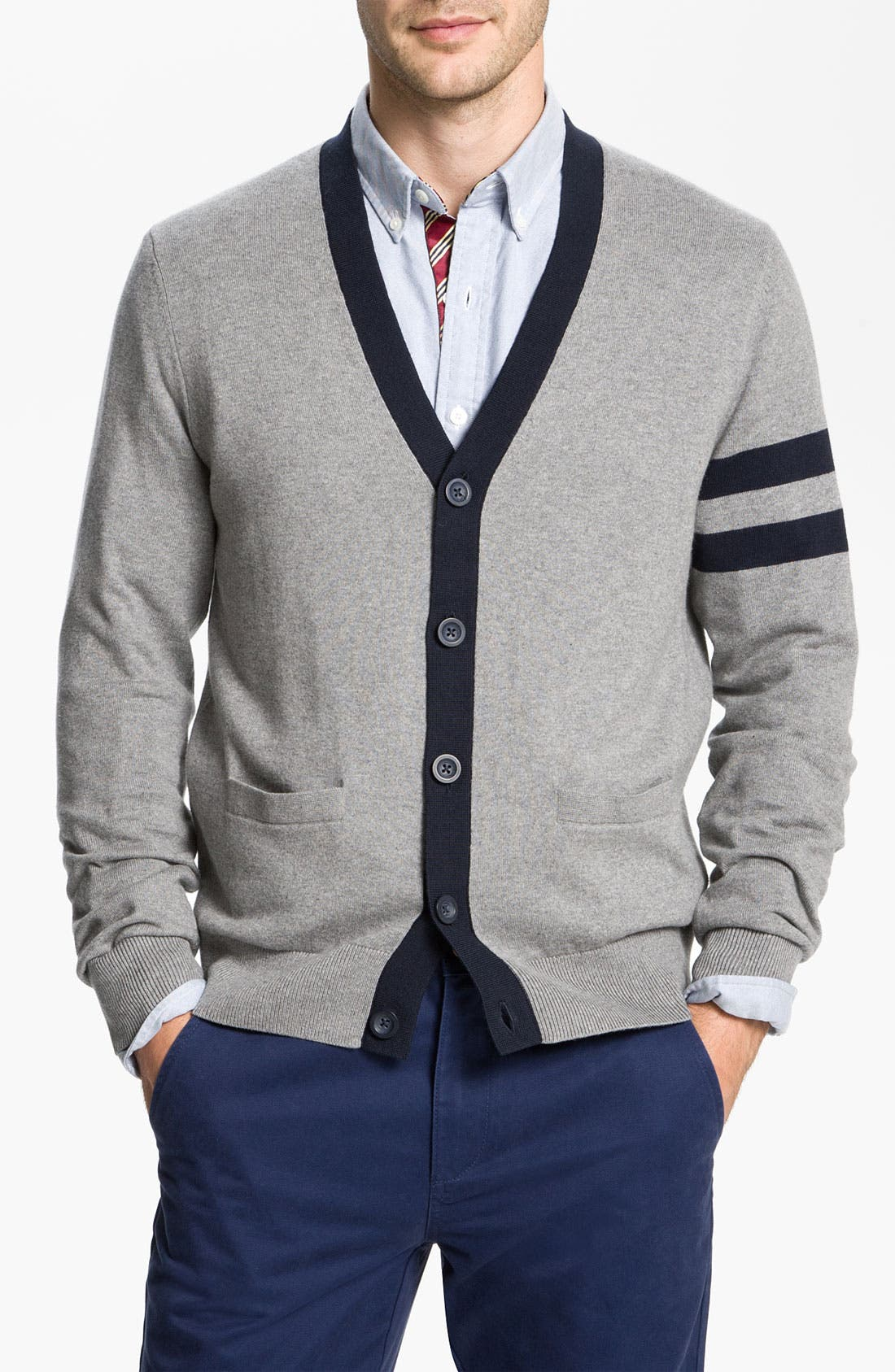 Alternate Image 1 Selected - Brooks Brothers Cotton & Cashmere Cardigan