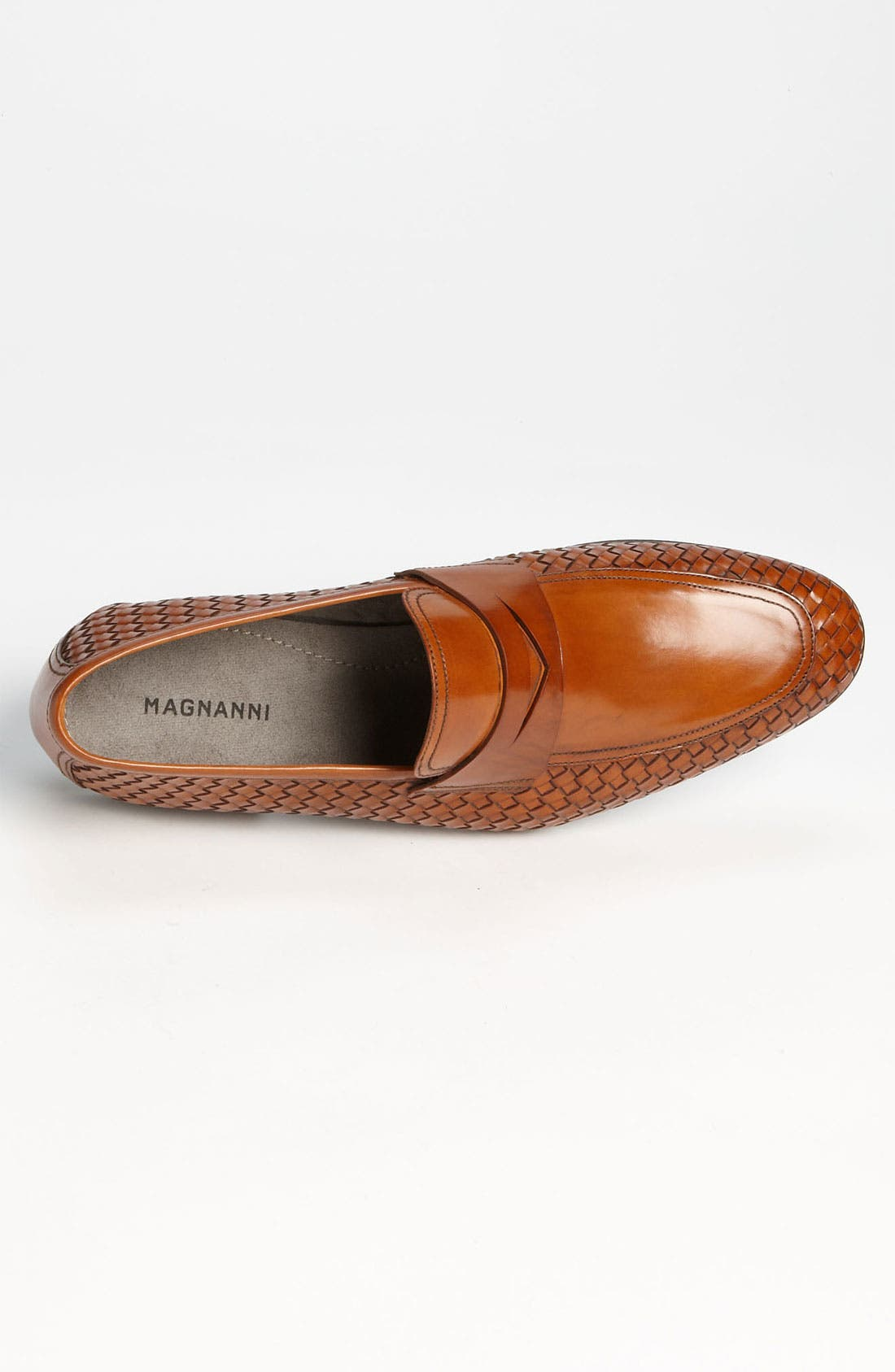 Alternate Image 3  - Magnanni 'Oliver' Woven Penny Loafer (Online Only)
