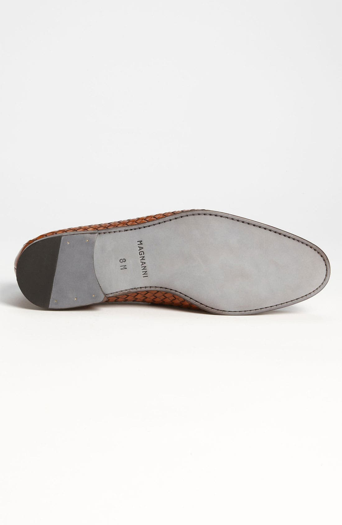 Alternate Image 4  - Magnanni 'Oliver' Woven Penny Loafer (Online Only)