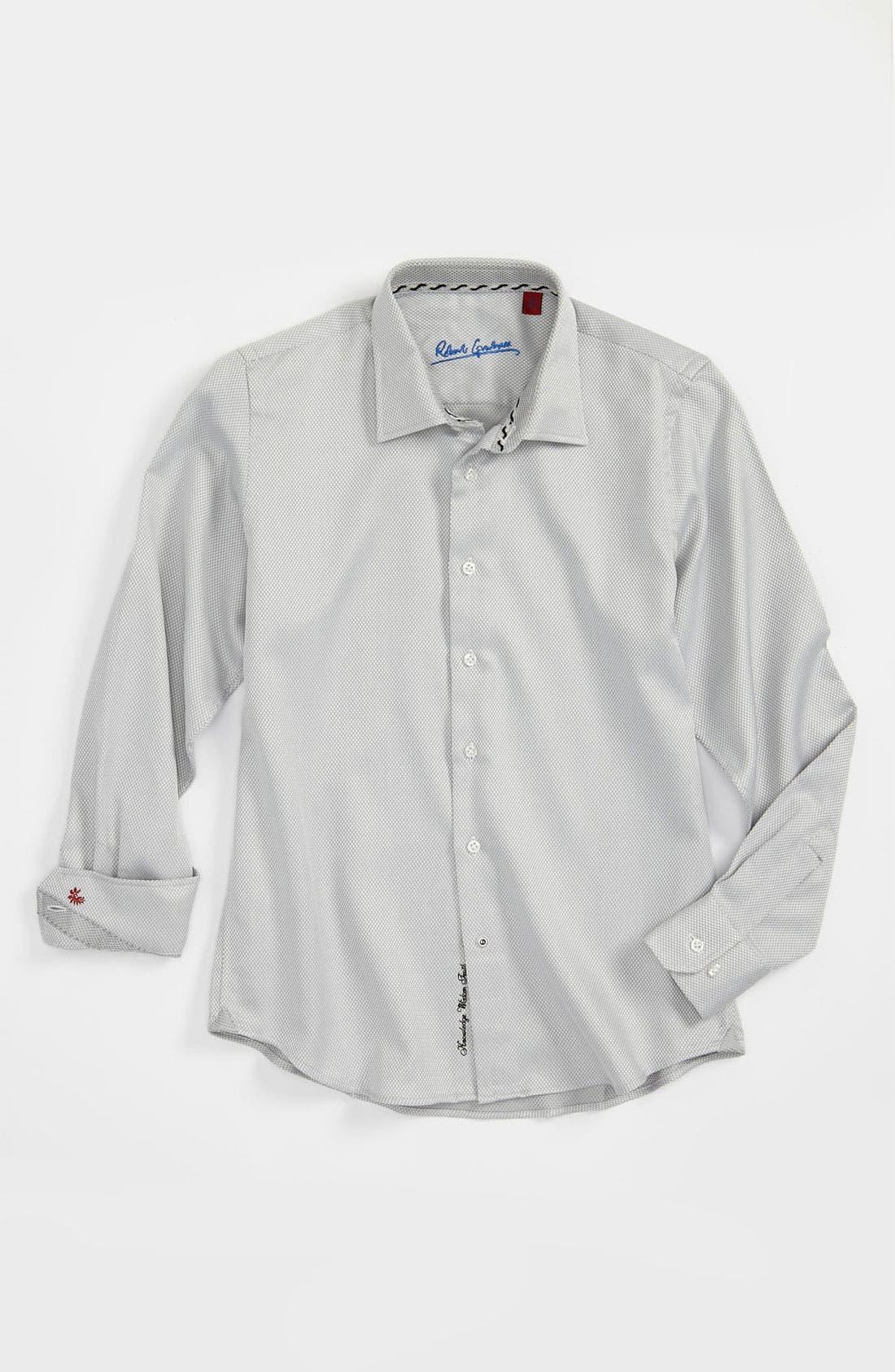 Alternate Image 1 Selected - Robert Graham 'Tommy' Dress Shirt (Big Boys)