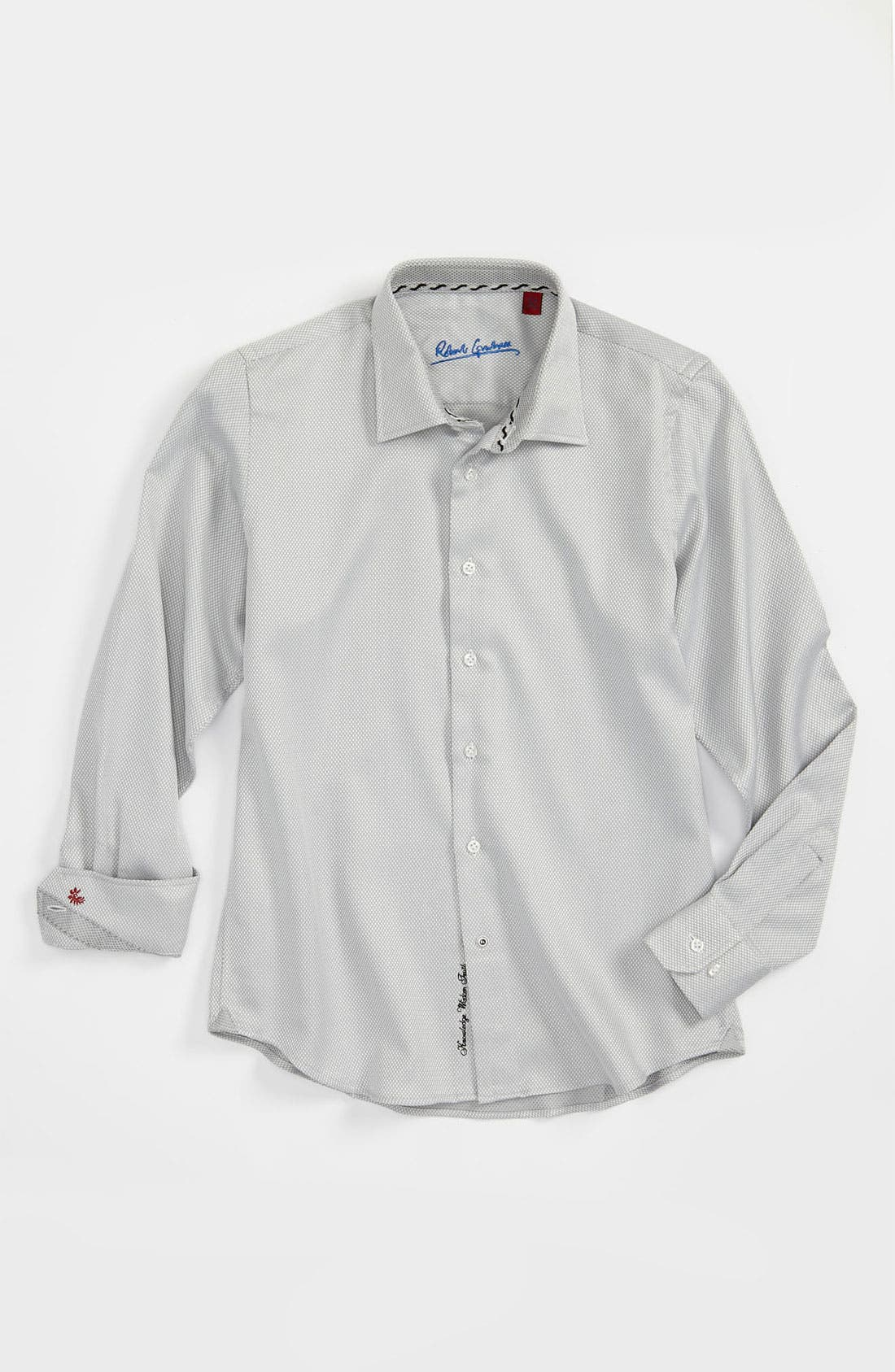 Main Image - Robert Graham 'Tommy' Dress Shirt (Big Boys)