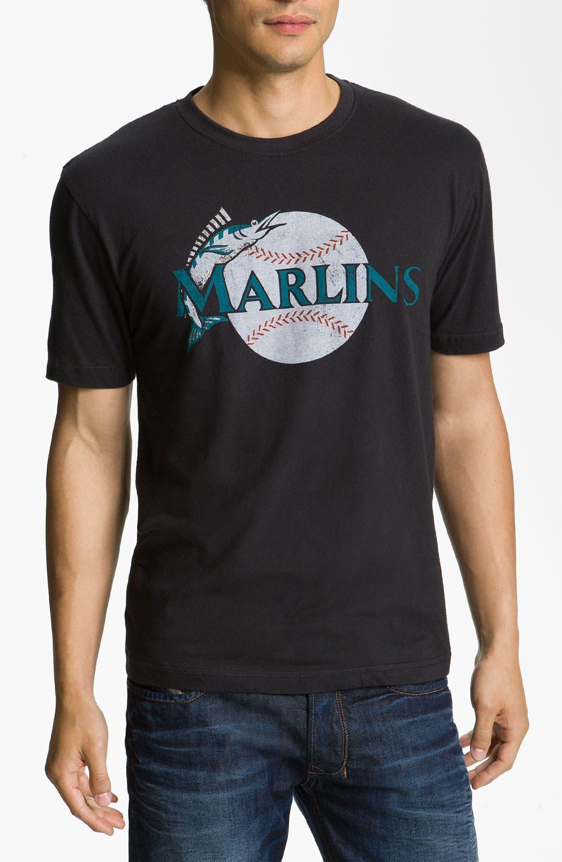 Alternate Image 1 Selected - Wright & Ditson 'Miami Marlins' Baseball T-Shirt