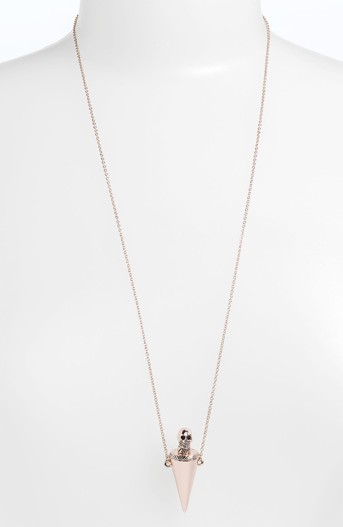Alternate Image 1 Selected - House of Harlow 1960 'Skull Vial' Necklace