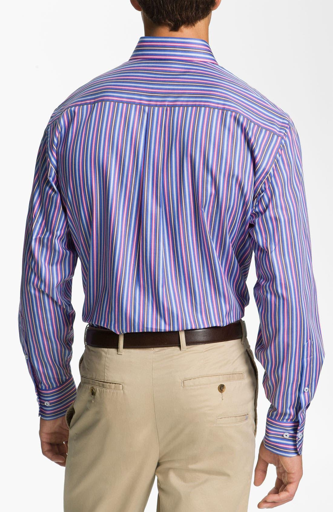 Alternate Image 2  - Peter Millar 'Pop Stripe' Sport Shirt