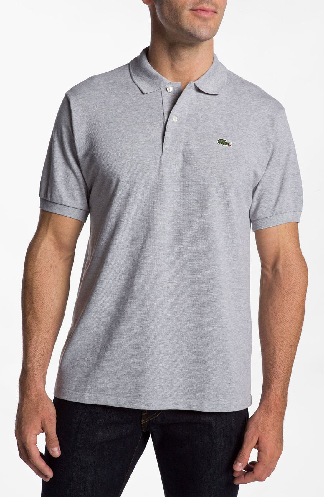 Main Image - Lacoste 'Chine' Piqué Polo