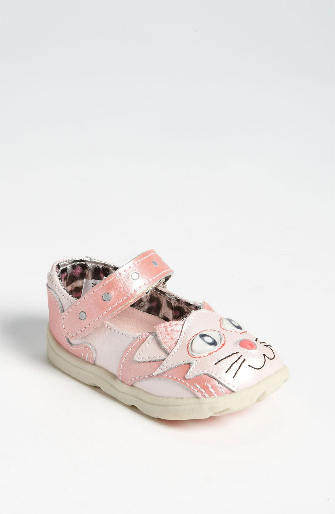 Main Image - Zooligans™ 'Kitty'  Mary Jane (Baby, Walker & Toddler)