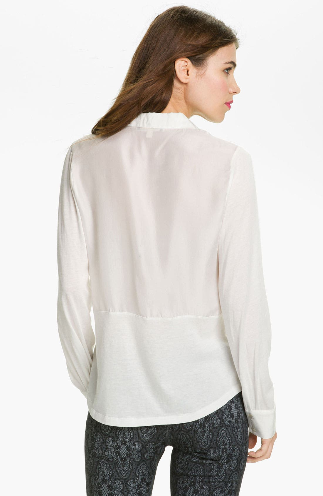 Alternate Image 2  - Joie Sweater, Current/Elliott Jacket & Jeans