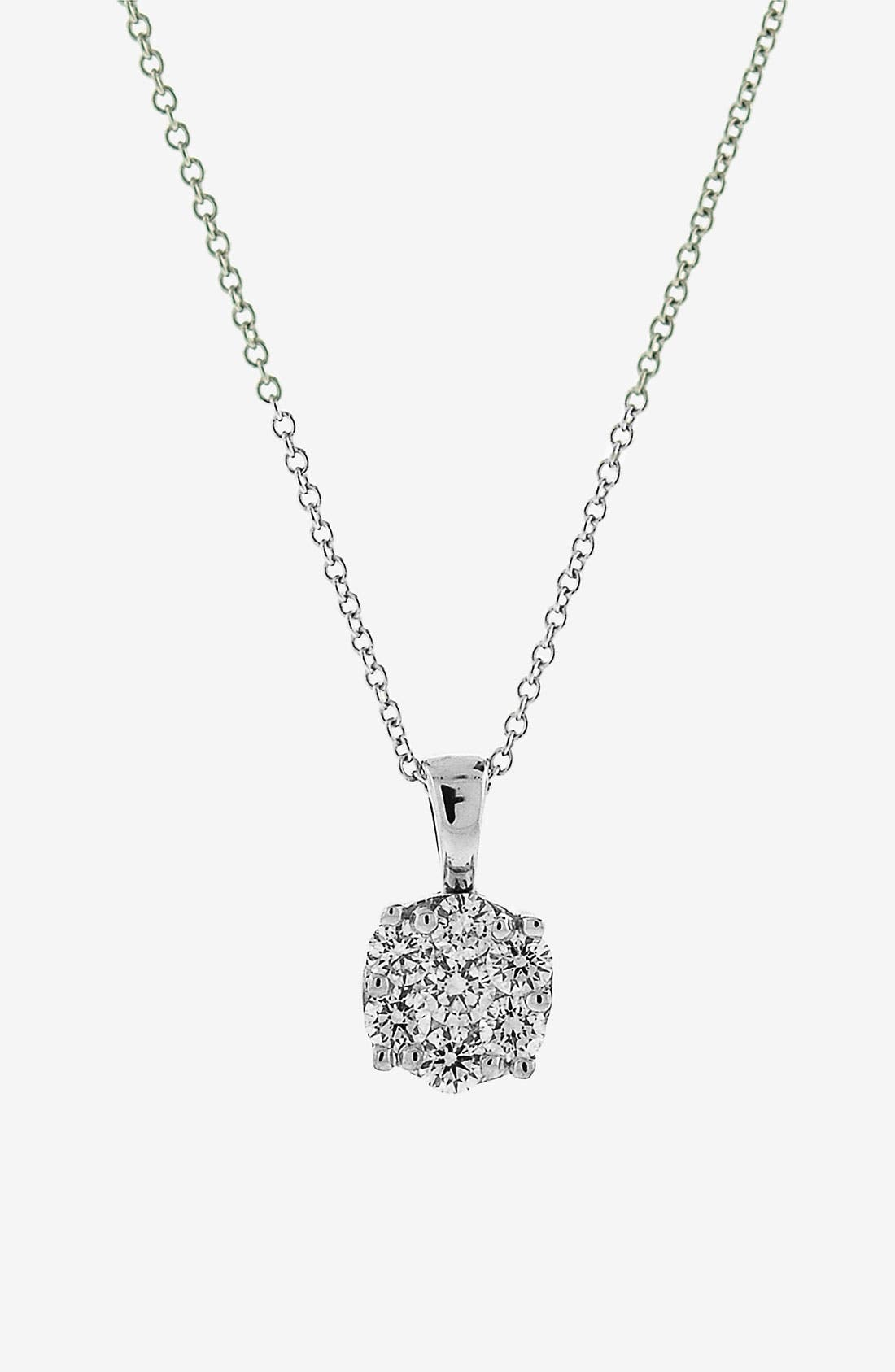 Main Image - Bony Levy 'Lucky 7' Diamond Pendant Necklace (Nordstrom Exclusive)