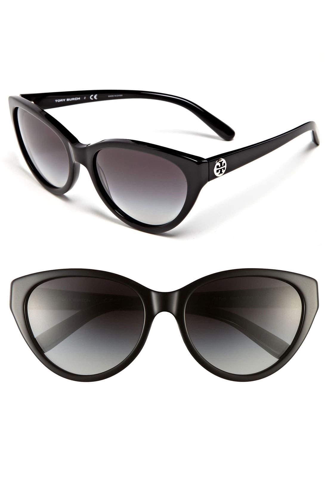 Alternate Image 1 Selected - Tory Burch 57mm Retro Sunglasses