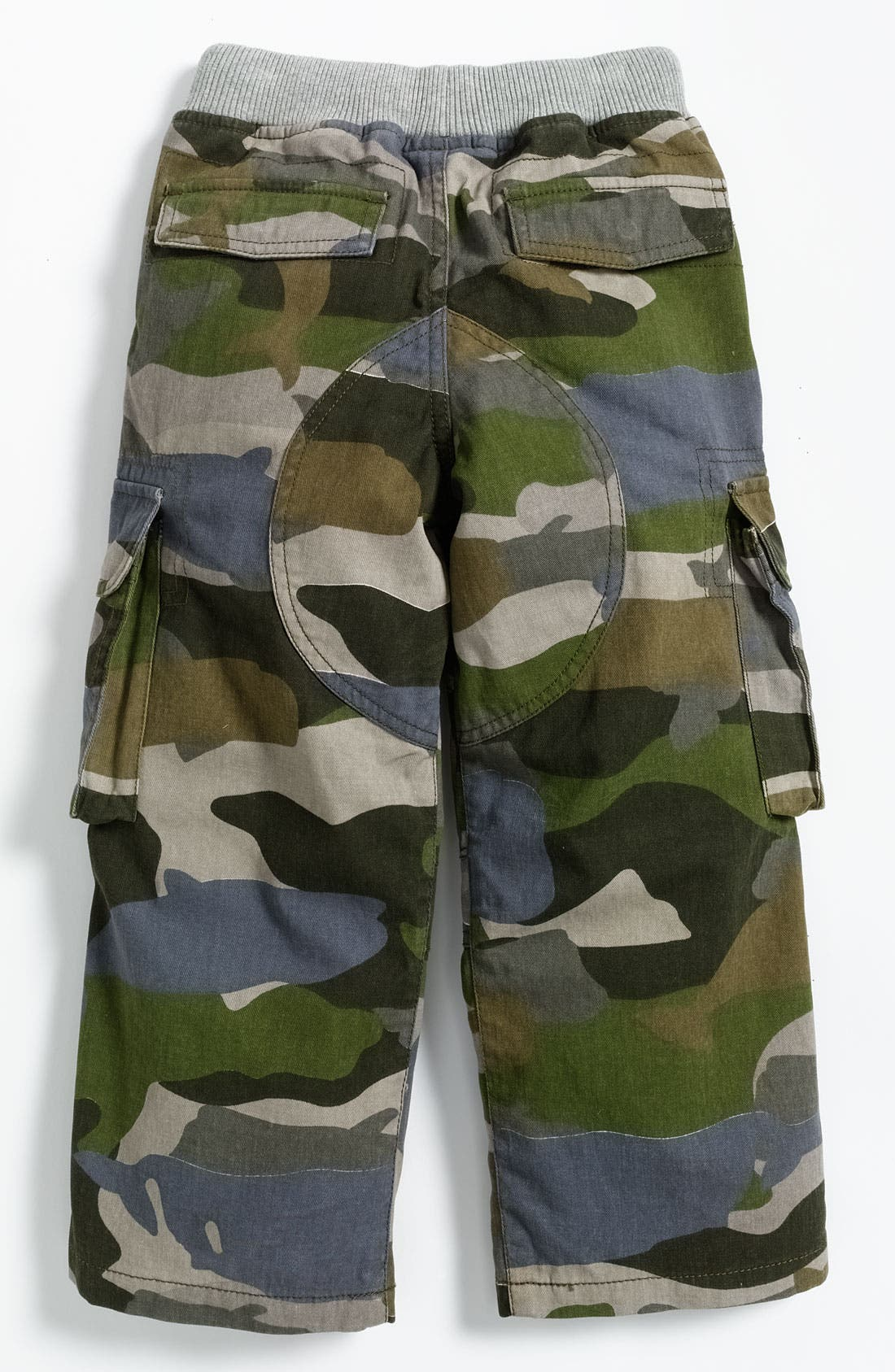 Alternate Image 2  - Mini Boden Ribbed Waist Cargo Pants (Toddler)