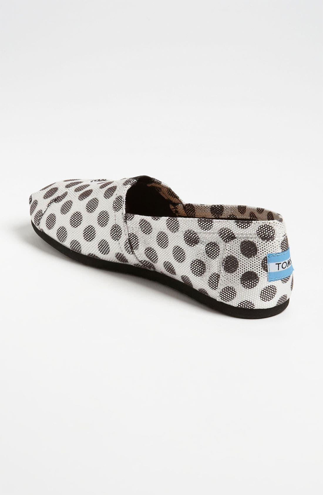 Alternate Image 2  - TOMS 'Classic - Metallic Dot' Slip-On (Women)