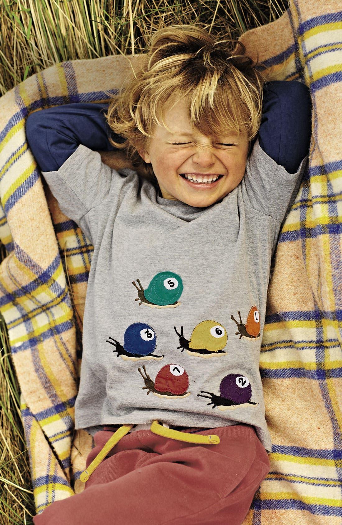 Alternate Image 2  - Mini Boden 'Colorblast' T-Shirt (Toddler)
