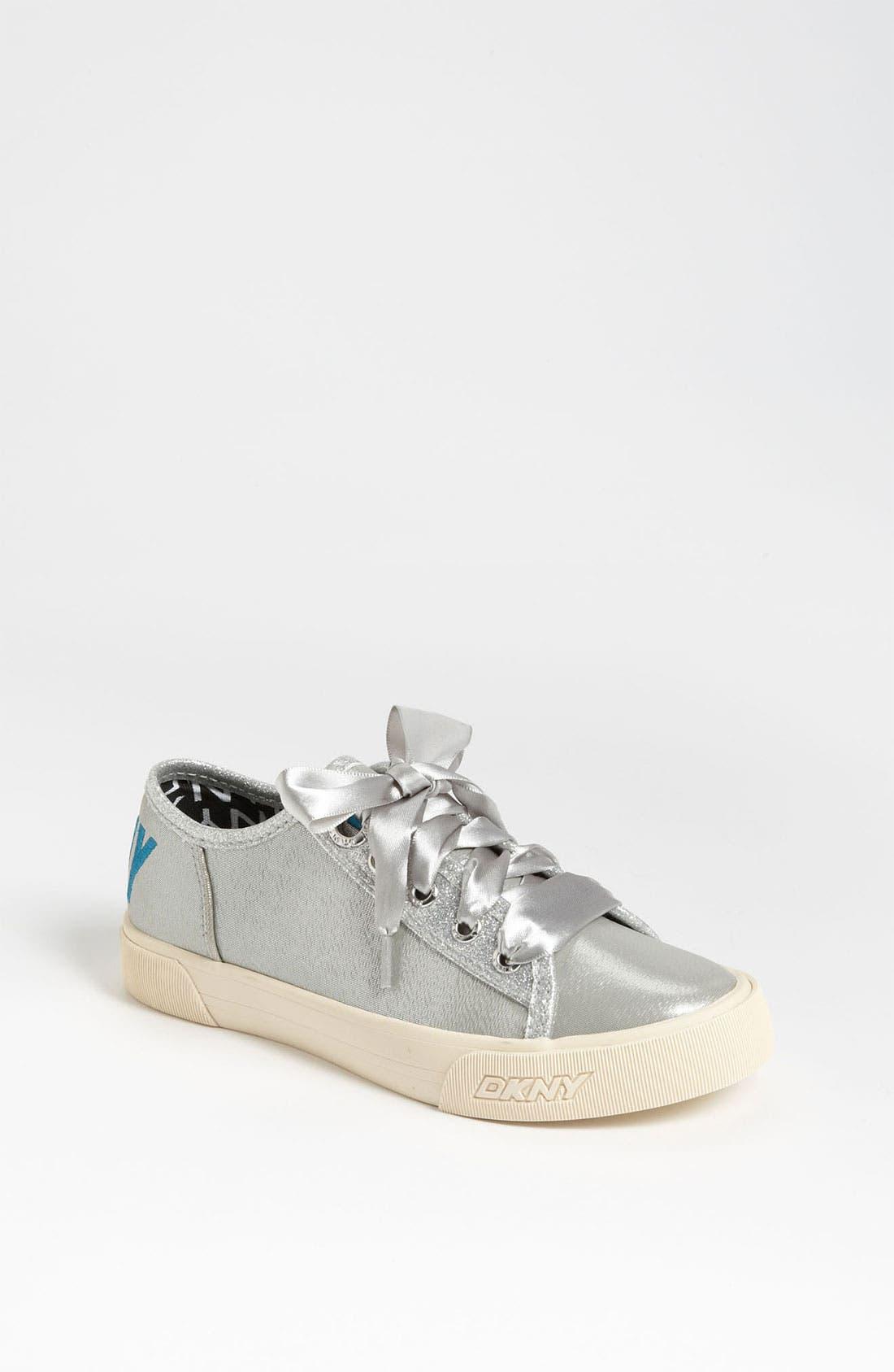 Alternate Image 1 Selected - DKNY 'Linden' Sparkle Sneaker (Toddler, Little Kid & Big Kid)