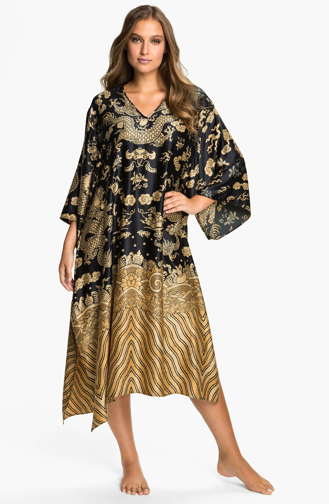 Alternate Image 1 Selected - Natori 'Dragon' Caftan