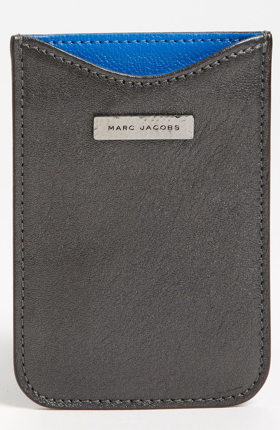 Alternate Image 1 Selected - MARC JACOBS Leather iPhone Sleeve
