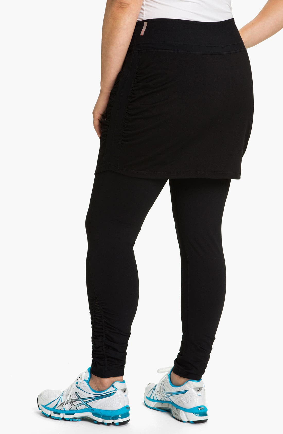 Alternate Image 2  - Zella 'Work It' Skirted Leggings (Plus)