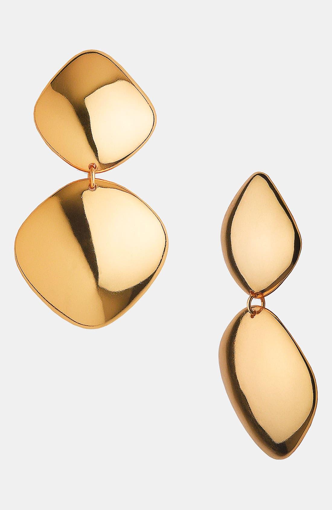 Main Image - Argento Vivo 'Metropolis' Drop Clip Earrings (Nordstrom Exclusive)