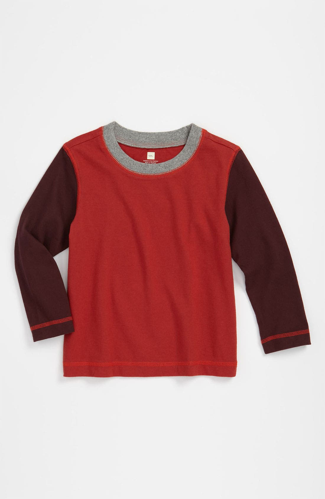 Main Image - Tea Collection 'Cool Colorblock' T-Shirt (Toddler)