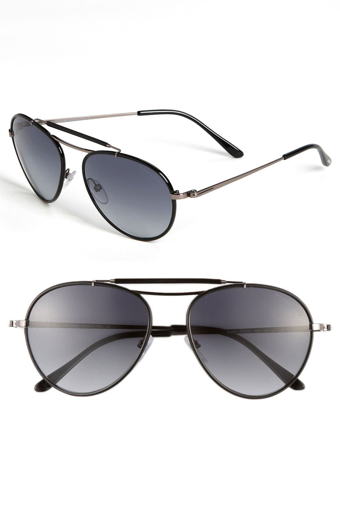 Alternate Image 1 Selected - Tom Ford Aviator Sunglasses