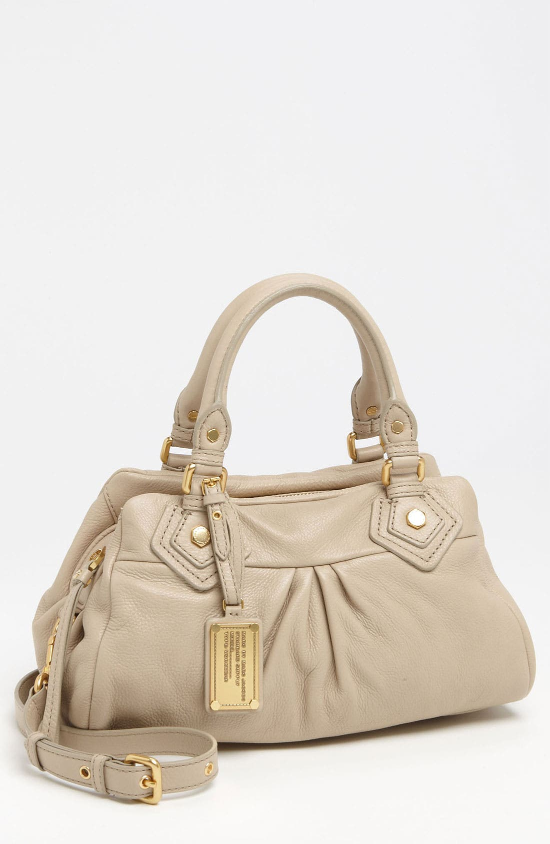 Main Image - MARC BY MARC JACOBS 'Classic Q - Baby Groovee' Leather Satchel