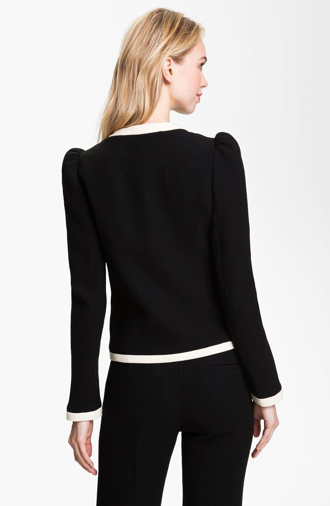 Alternate Image 2  - Milly 'Marizia' Bow Detail Jacket