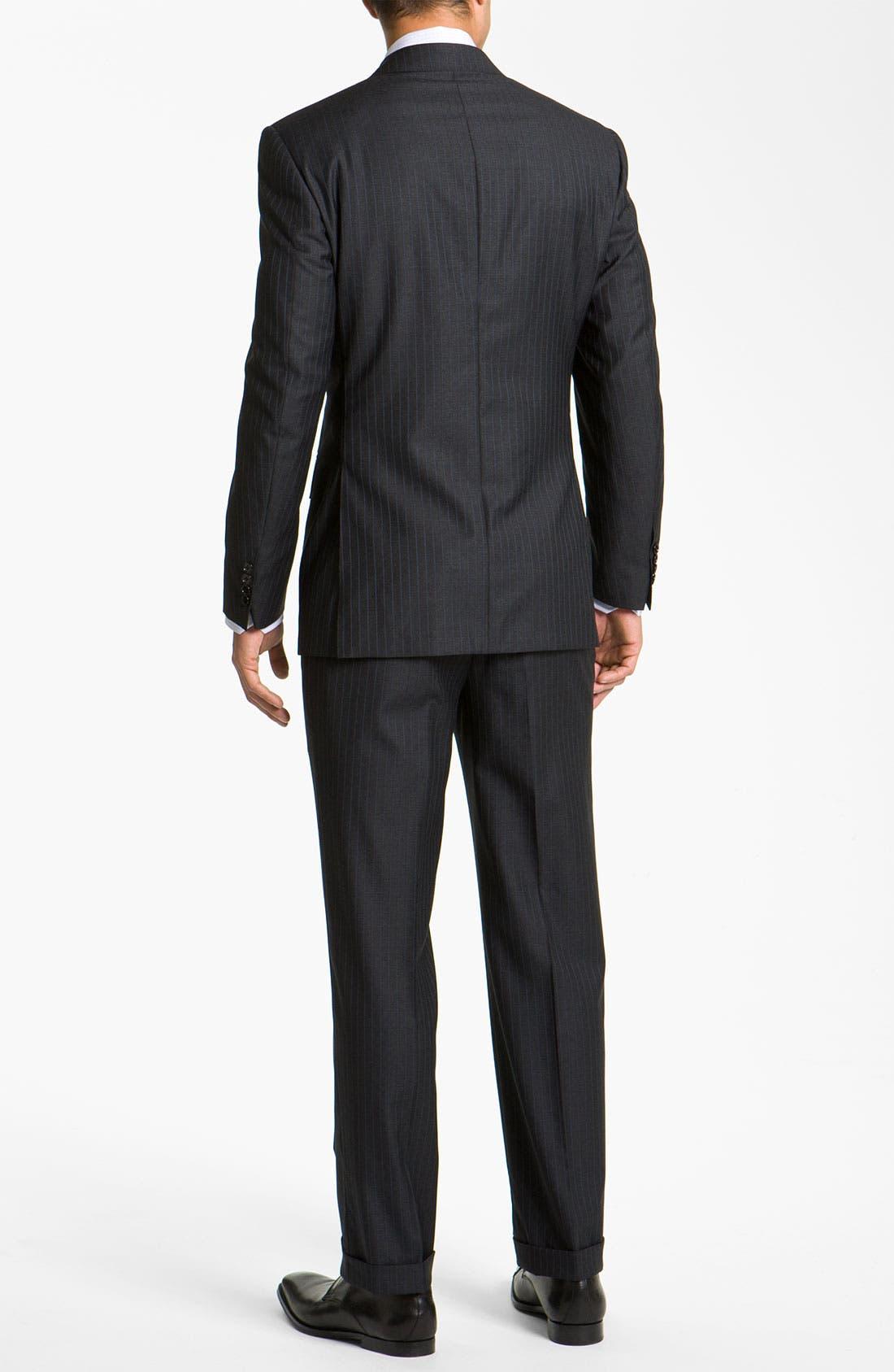 Alternate Image 2  - Canali Stripe Suit