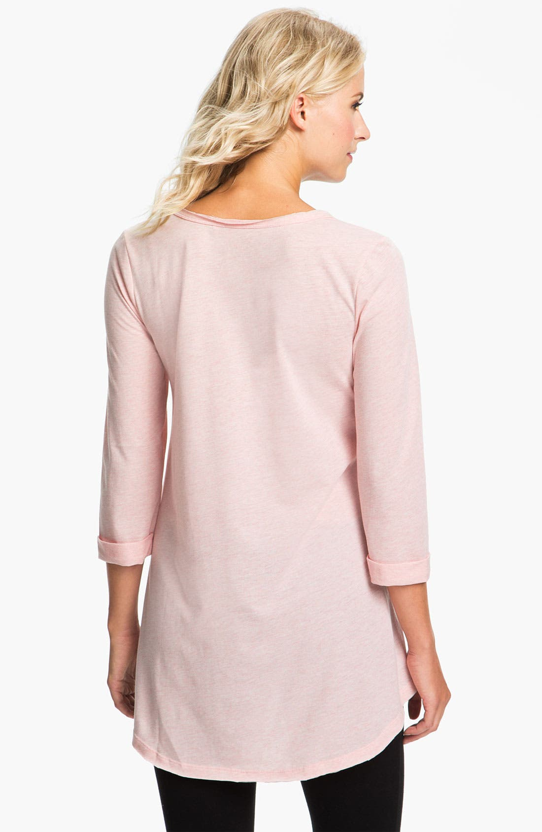 Alternate Image 2  - Daniel Buchler Heather Knit Lounge Top