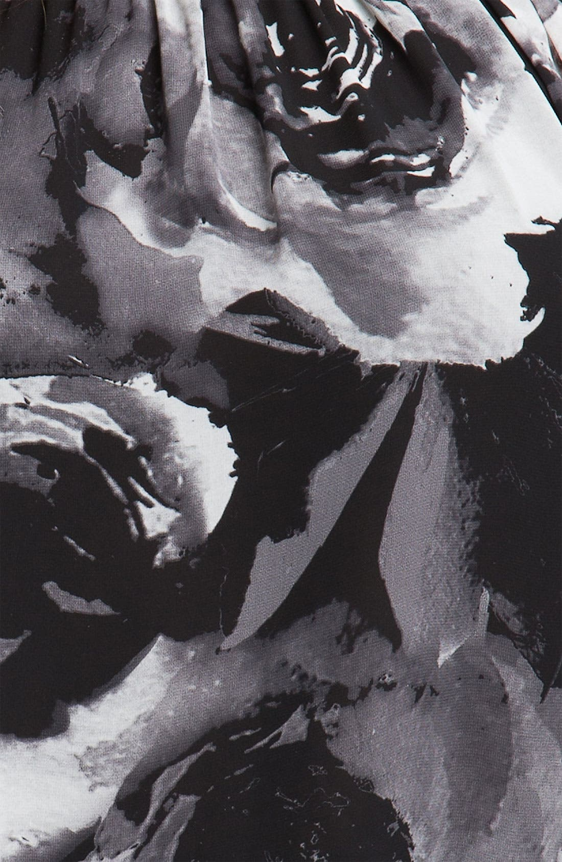Alternate Image 3  - Vince Camuto Print Split Sleeve Blouse (Plus)