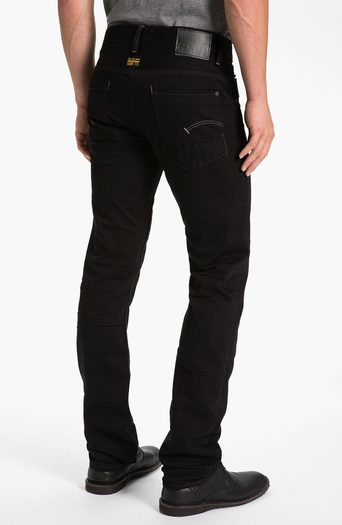 Main Image - G-Star Raw 'New Rader' Straight Leg Jeans (3D Raw)