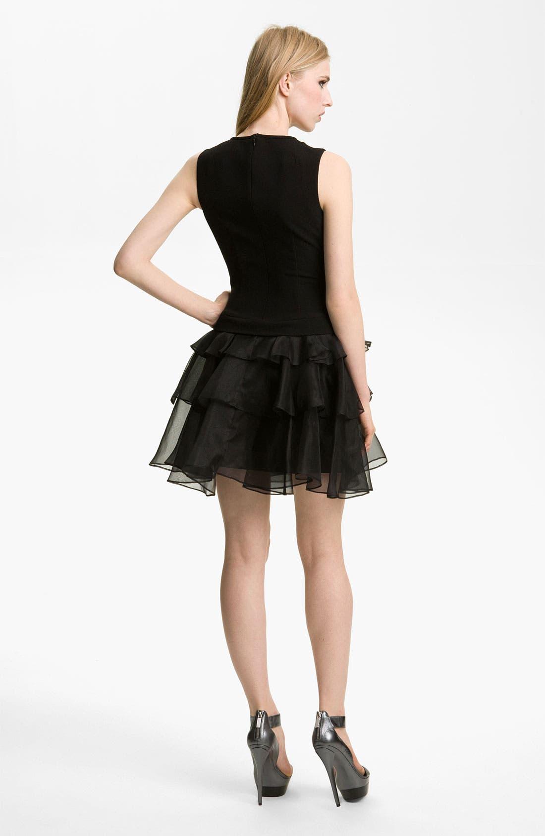 Alternate Image 2  - Rachel Zoe 'Judi' Ruffled Crepe Dress