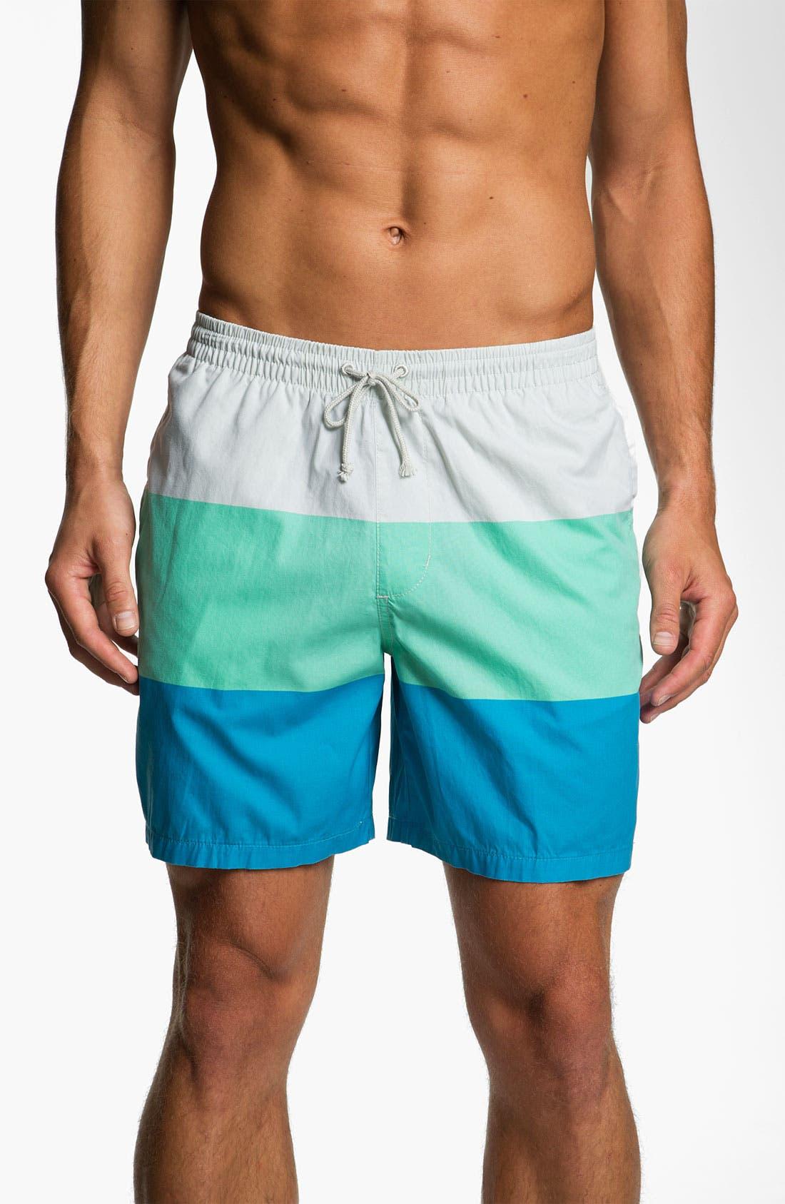 Alternate Image 1 Selected - Quiksilver 'El Tropo' Swim Shorts