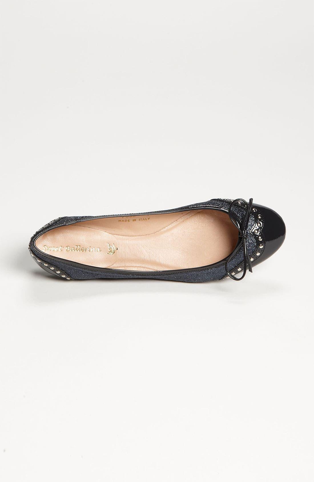 Alternate Image 3  - Sweet Ballerina Mignon Bow Ballet Flat