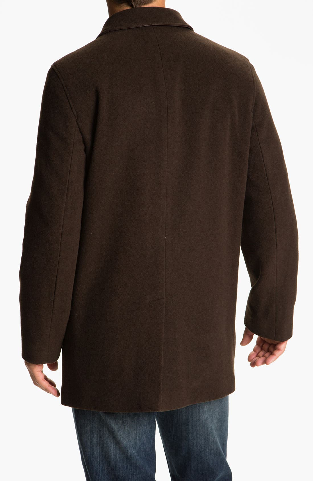 Alternate Image 2  - Cole Haan Wool & Cashmere Blend Coat (Online Exclusive)