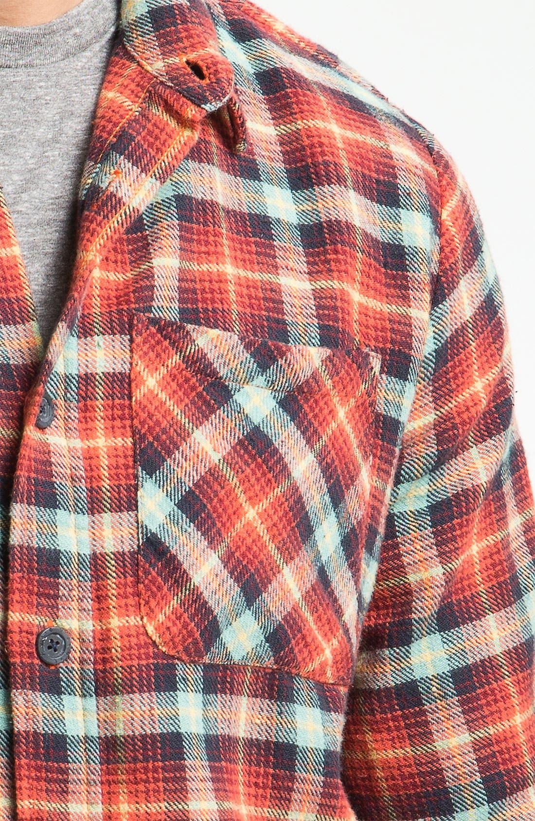 Alternate Image 3  - Nudie 'Marcel' Plaid Flannel Shirt